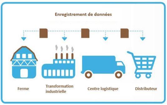 Les processus de blockchain pour l'agriculture